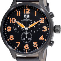 Zeno-Watch Basel Super Oversized SOS Chrono Big Date 6221-8040...