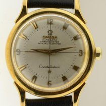 Omega Constellation Automatic 18k Yellow Gold Vintage 1950&#39...