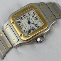 Cartier Santos Galbee Automatic - Stahl-Gold - 2423