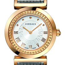 Versace Women's P5Q80D499 S089 Vanity Rose-Gold Ion-Plated...