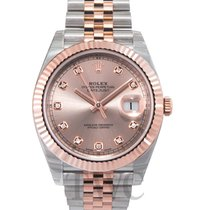 Rolex Datejust 41 Sundust/Rose gold G Jubilee 41mm - 126331