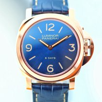 Panerai LUMINOR BASE 8 DAYS ORO ROSSO PAM 717  50 LIMITED