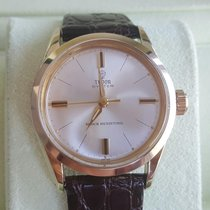 Tudor 34mm Tudor Oyster Gold capped Ref. 7934 SWISS Rose