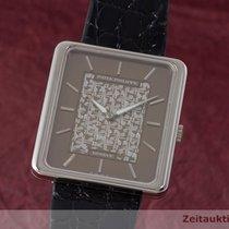 Patek Philippe 18k (0,750) Weissgold Handaufzug Herrenuhr 3599