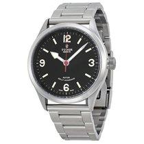 Tudor Heritage Ranger Black Dial Mens Watch 79910-BKASSS