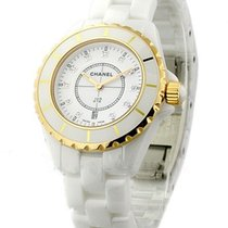 Chanel J12 White Small Size with RG Accents H2181