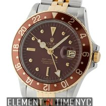Rolex GMT-Master Stainless Steel / 18k Yellow Gold Rootbeer...