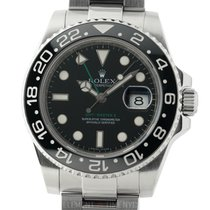 Rolex GMT-Master II Ceramic Stainless Steel Black Dial 40mm ...