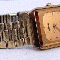 Rado Florence 111.3689.2 Date ETA 956.112 Gold Plated Women's