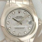 Rolex 81209 Ladies' Pearlmaster Masterpiece, White Gold