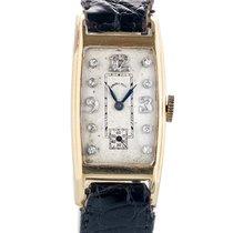 Hamilton Vintage In Oro 14kt E Diamanti