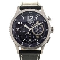 Vulcain Aviator Instrument Chronograph 44 Blue