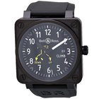 Bell & Ross Aviation BR01 CLIMB Black PVD Automatic Watch ...