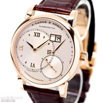 A. Lange & Söhne Big Lange 1 Ref-115032 18K Rose Gold Box...