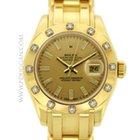 Rolex ladies 18k yellow gold Masterpiece