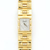 Piaget Yellow Gold Diamond Dancer Mother of Pearl Bracelet Watch