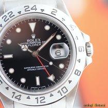 Rolex Men's Explorer II Black Face 40mm Automatic  Steel...