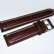 Breitling Lederband mit Dornschließe, 20/18 mm (Breitling 39-1)