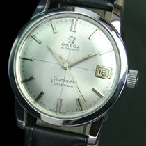 Omega Seamaster Cross Hair Automatic Date Steel Mens Watch...