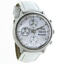 Mido Commander Ladies Swiss Chronograph Automatic Watch...