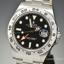Rolex Explorer II  Black Automatic Stainless Steel 42MM 216570