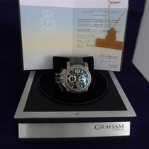 Graham Chronofighter Oversize Titanium SAS limitiert 300 Stk....