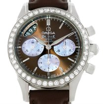 Omega Deville Co-axial 1.61ct Diamond Ladies Watch 4877.60.37