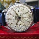 Wakmann Vintage 3-register Chronograph Valjoux Day Date Month