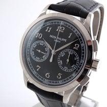Patek Philippe Chronograph  Whitegold  black Dial
