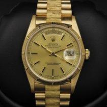 Rolex Day-Date - President - BARK - 18248 - E Serial - MINT