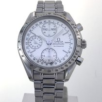 Omega Speedmaster Triple Date Silver Chronograph 3521.30 Box