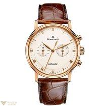 Blancpain Villeret Chronograph 18K Rose Gold Men's Watch