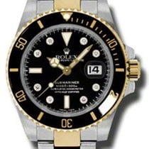 Rolex Submariner Steel and Gold 116613 bkd