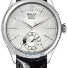 Rolex Cellini Dual Time 39mm Mens Watch