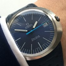 Omega Genuine Omega Geneve Dynamic watch with rare blue dial