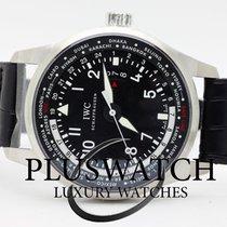IWC PILOT'S  Watch Worldtimer Automatic Black IW326201 T