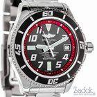 Breitling SuperOcean Red 42mm Stainless Steel Automatic Men's...