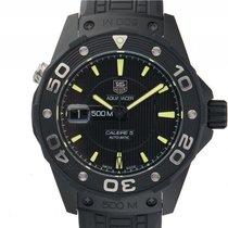 TAG Heuer Aquaracer 500M Calibre 5 Titan Black PVD Automatik...