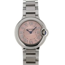 Cartier Ballon Bleu De Cartier 29 Pink Dial Ladies Quartz