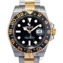 勞力士 (Rolex) GMT-Master II Black/18k gold Ø40mm - 116713 LN