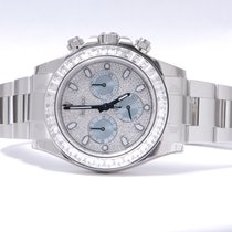 Rolex Daytona Platinum Full Diamonds 116576TBR