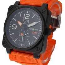 Bell & Ross BR0394 GMT and Big Date Limited Orange