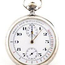 Omega . Mono-pulsating chronograph pocket watch, Lepine Circa...