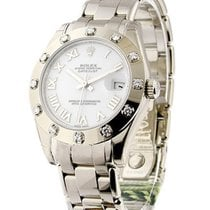 Rolex Unworn 81319 Mid Size White Gold Masterpiece - 81319 -...
