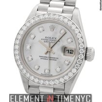 Rolex Datejust President Platinum Diamond Bezel MOP Diamond...