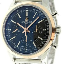Breitling Transocean 43mm Chronograph  Automatic Watch...