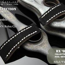 Rolex Submariner & Explorer Black Canvas Watch Strap