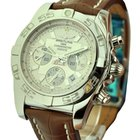 Breitling Chronomat B01 Chronograph in Steel with Silver Dial