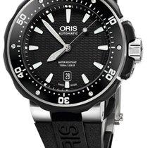 Oris ProDiver Date Rubber, Black Dial