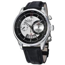 Paul Picot Gentleman Chronodate 42mm Silver Dial Men's Watch